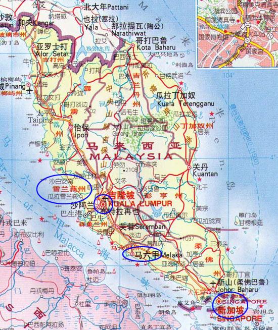 东南亚地图中文版_东南亚地图_东南亚地图高清全图_玉林导航